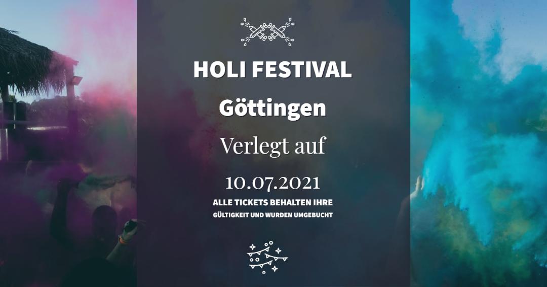 Holi Göttingen verlegt